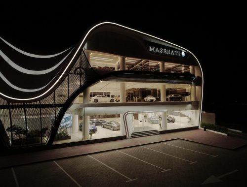 Al Tayer Motors Maserati showroom