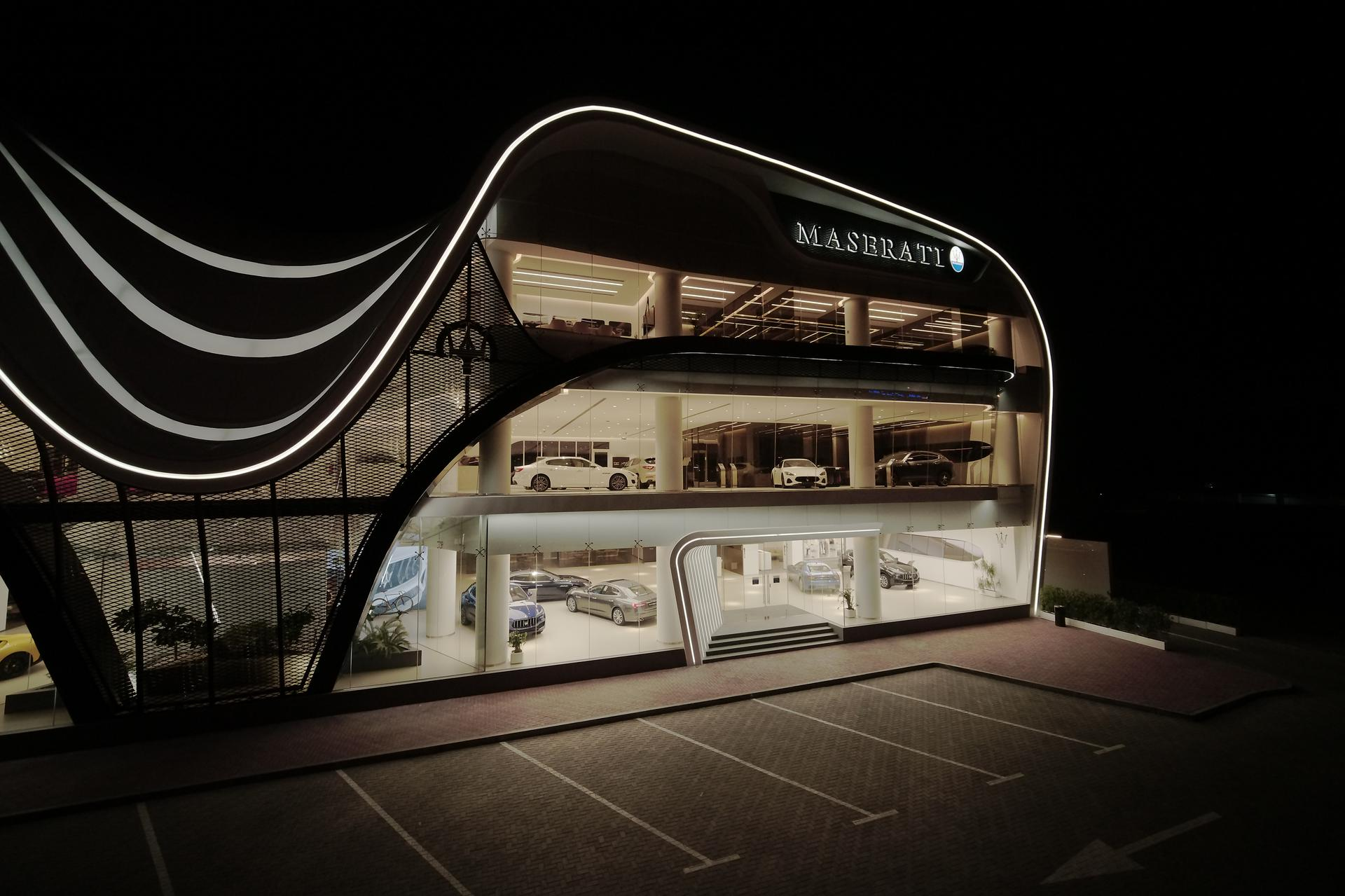 Al Tayer Motors Maserati showroom
