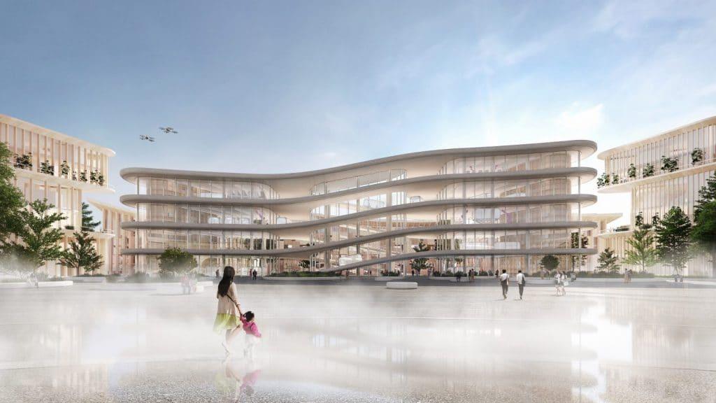 Toyota stad van de toekomst - woven city japan