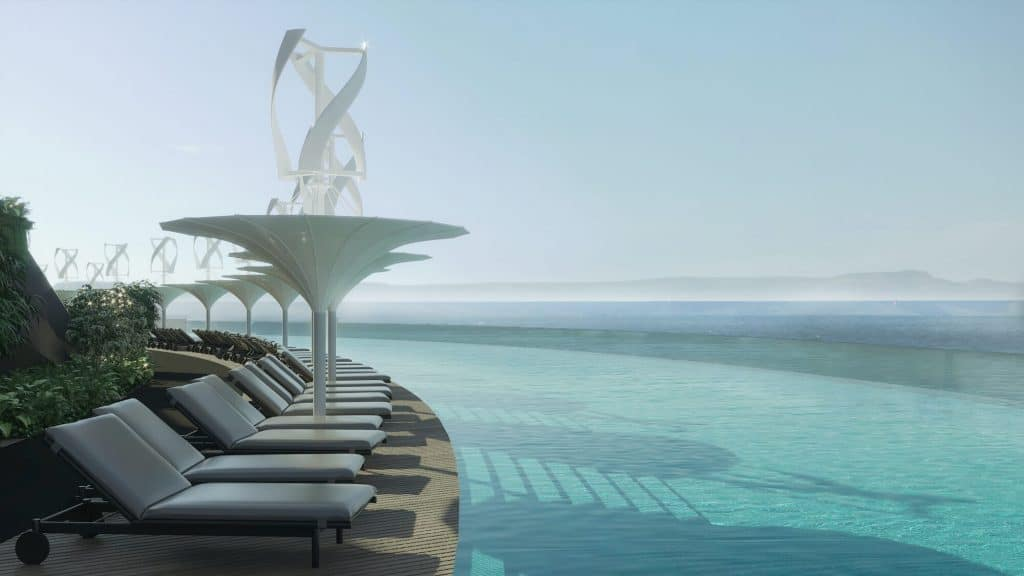 Eco-Floating Hotel is drijvend luxe resort in Qatar