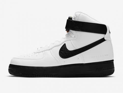1017 ALYX 9SM x Nike Air Force 1 High White