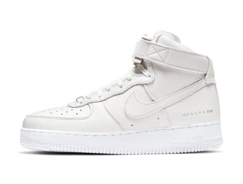 1017 ALYX 9SM x Nike Air Force 1 High Sail