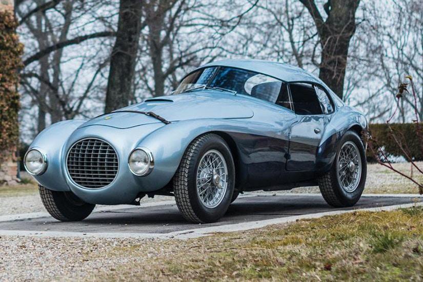 1950 Ferrari 166MM/212 Export 'Uovo' Sotheby's