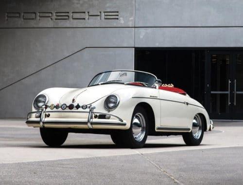 1956 Porsche Super Speedster - Porsche 356