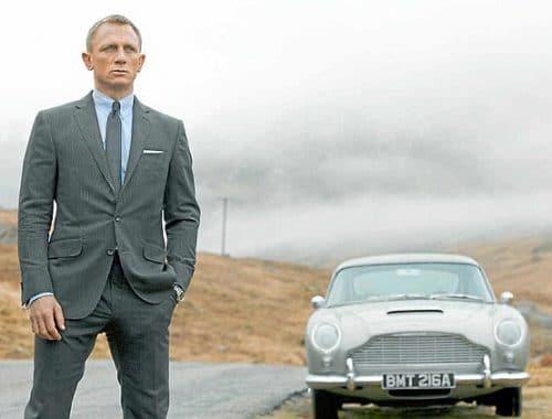 1965 Aston Martin DB5 veiling james bond