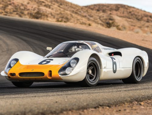1968 Porsche 908 Works Short-Tail Coupe