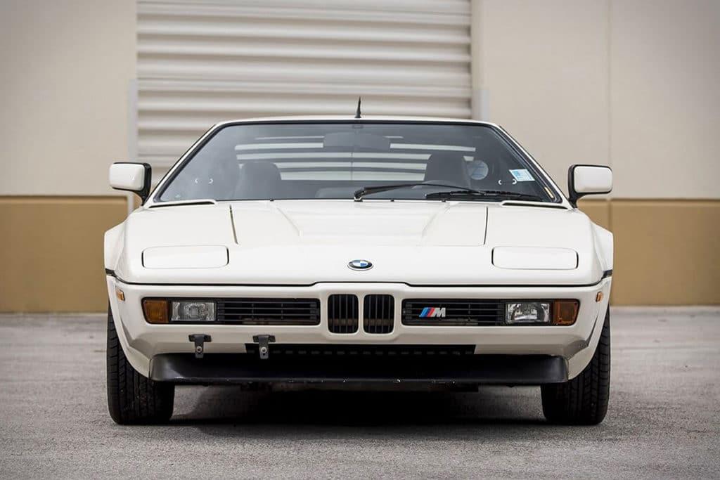 1981 BMW M1 veiling