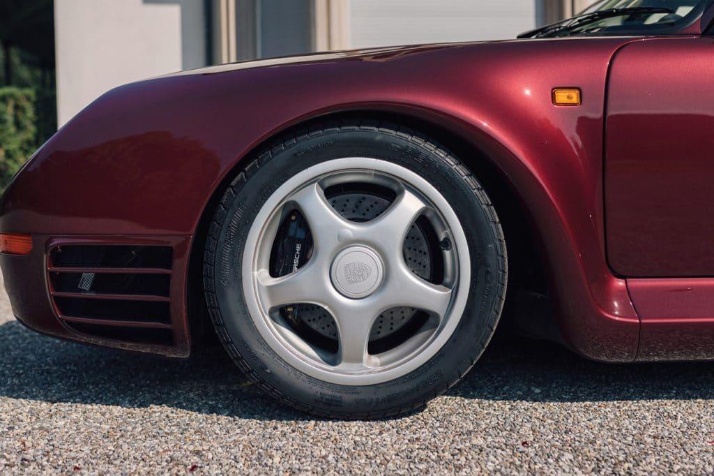 Porsche 959 Komfort veiling - Qatar Koninklijke familie