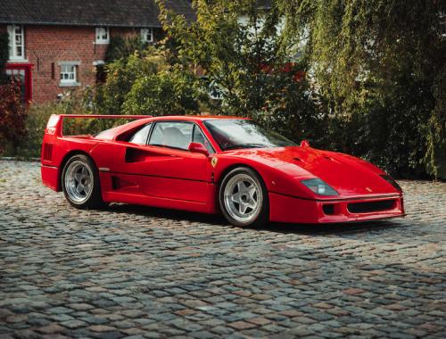 """1989 Ferrari F40 Berlinetta """"Non-Cat, Non-Adjust"""" veiling"""