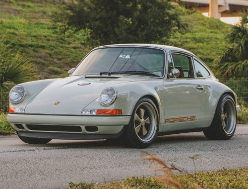 1989 Porsche 911 Reimagined by Singer veiling RM Sotheby's
