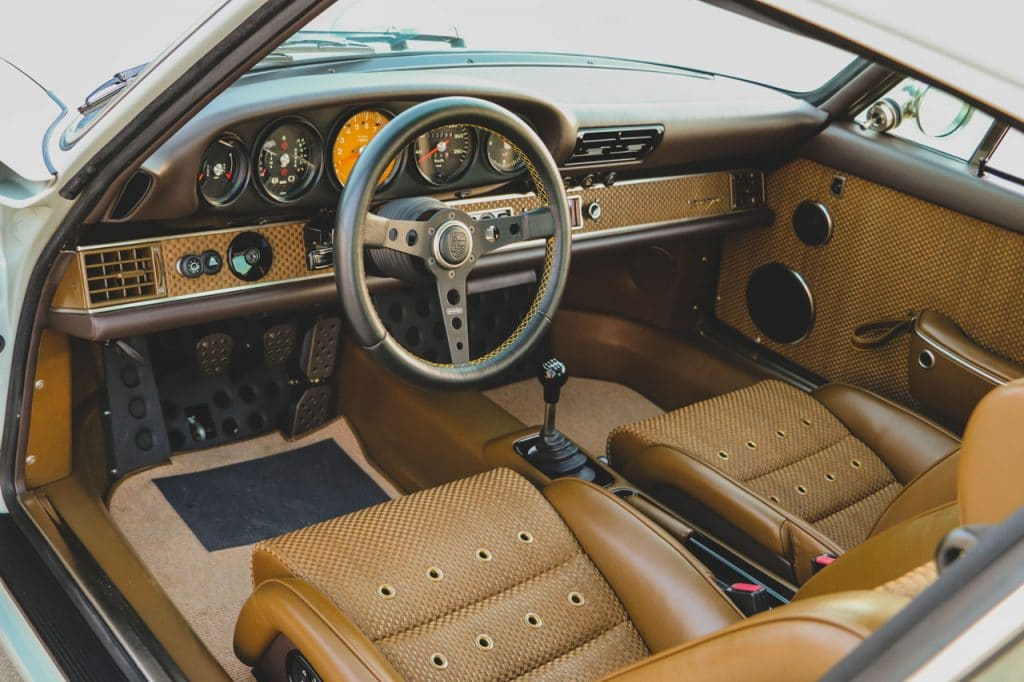 1989 Porsche 911 Reimagined by Singer veiling RM Sotheby's