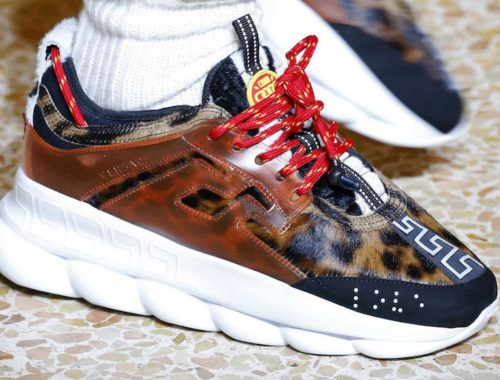 2 Chainz x Versace Chain Reaction sneakers