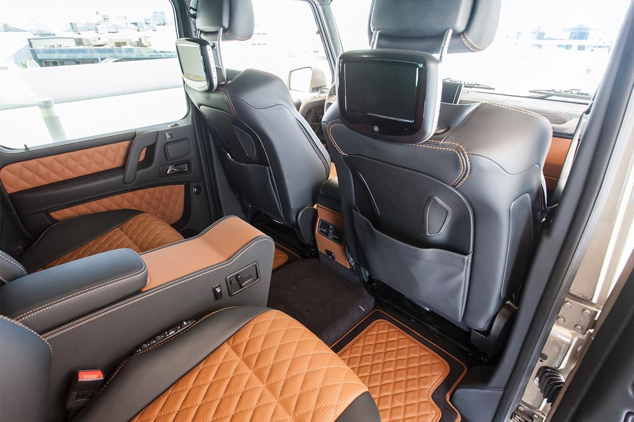 2015 Mercedes-Benz G63 AMG 6×6