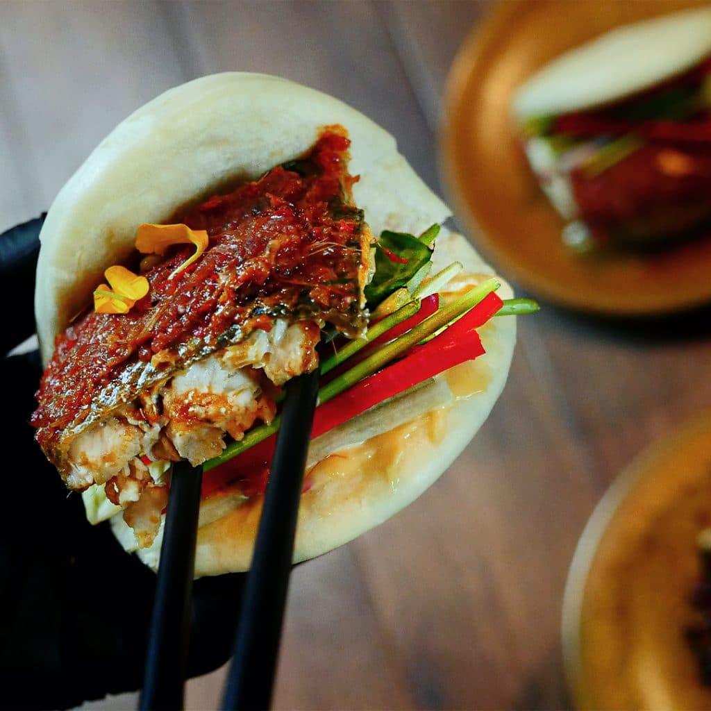 Aziatische onemeal kits Chef@home kits van topchef Han Ji thuisbezorgd Nederland - umami by han - zheng - recensie hanting delivery