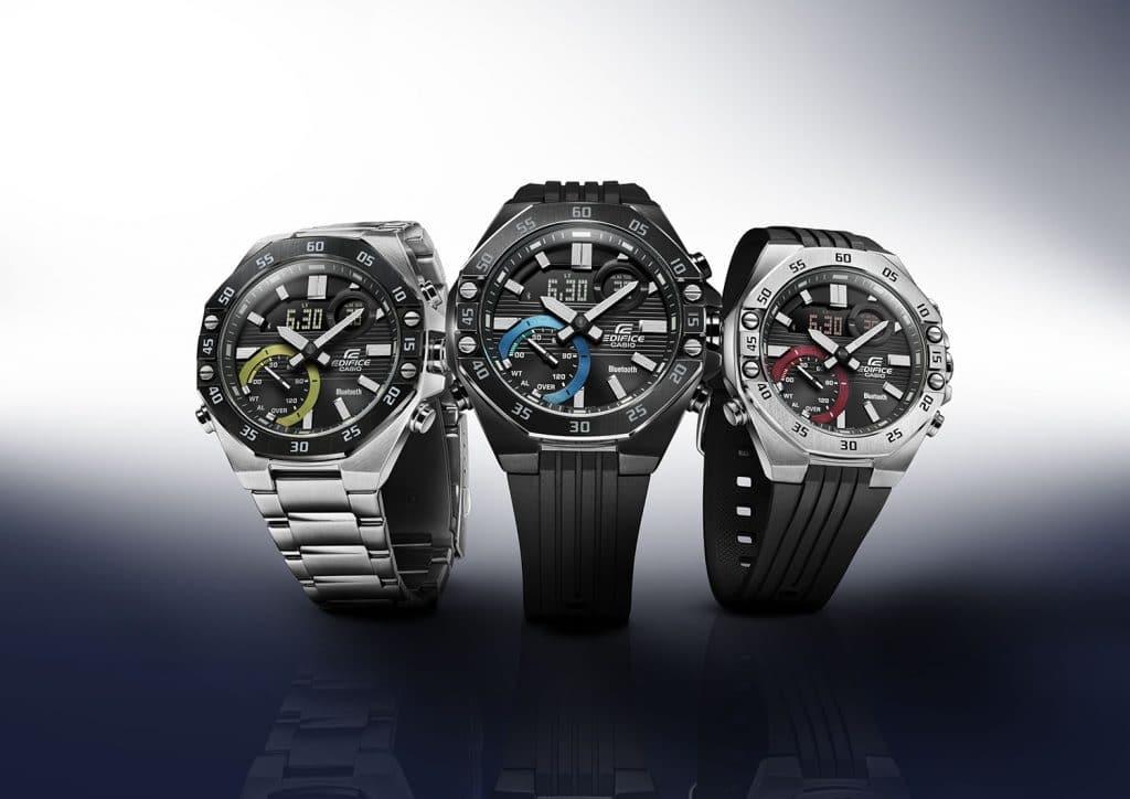 Casio EDIFICE ECB 10-horloge