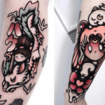 Japanse tattoos Andrea Raudino 'Nemo'