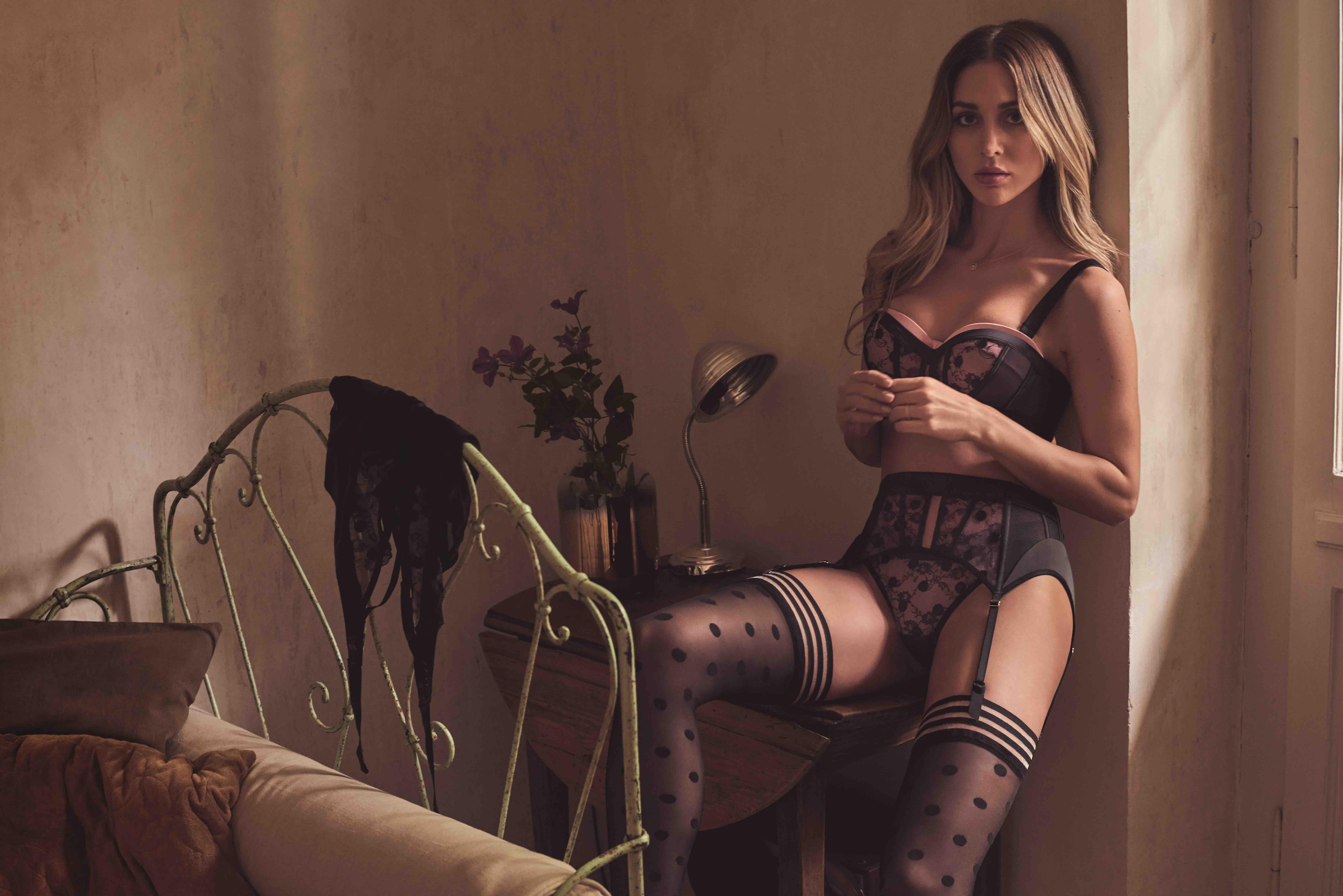 Ann-Kathrin Götze x Hunkemöller lingerie-