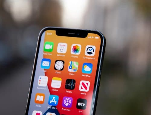 Apple iPhone 13 kleinere notch design