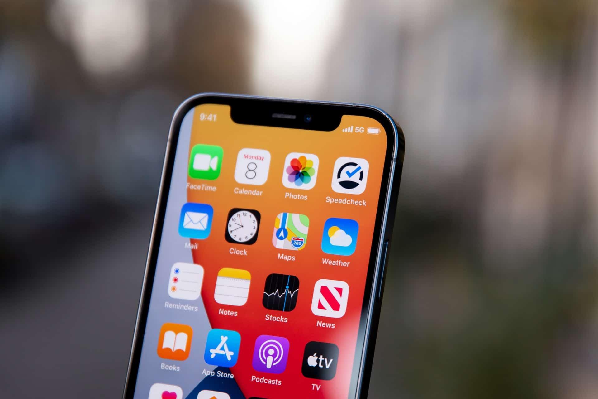 Apple iPhone 13 kleinere notch design