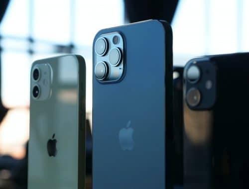 Apple iPhone 13 zonder fysieke knopjes