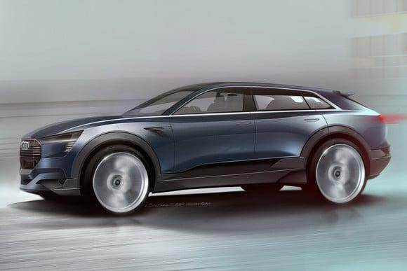 Audi heeft volledig elektrische e-tron quattro SUV op de planning Mannenstyle autonieuws