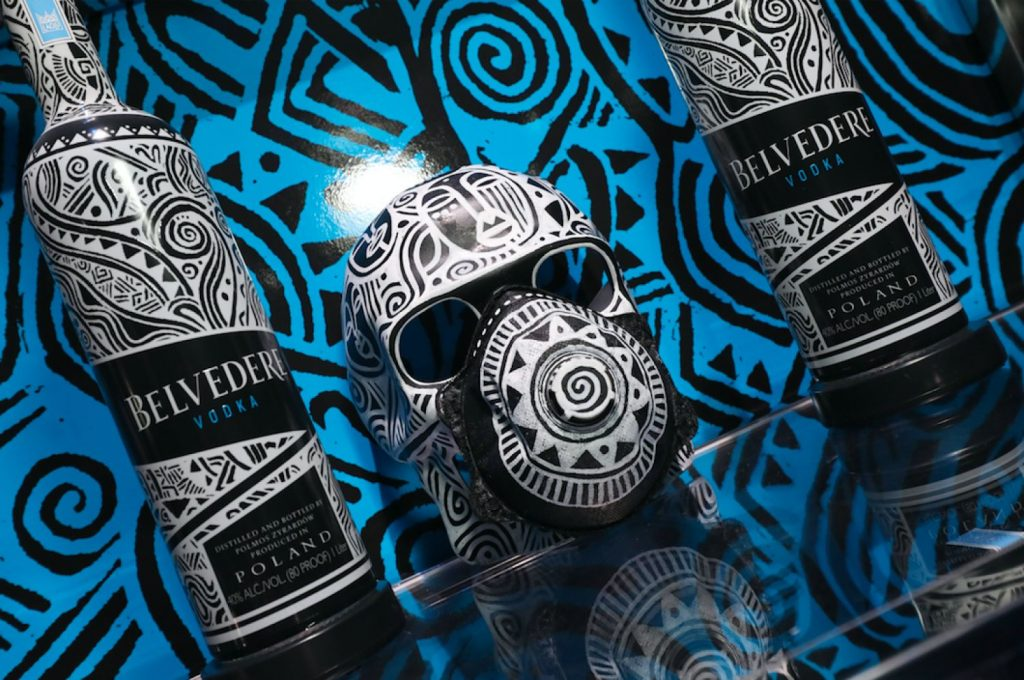 BELVEDERE X LAOLU SENBANJO limited edition fles