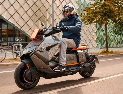 BMW CE 04 elektrische scooter bmw motorrad