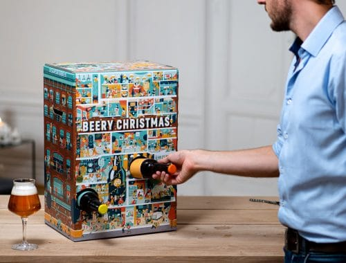 Beery Christmas adventskalender met 24 speciaalbieren