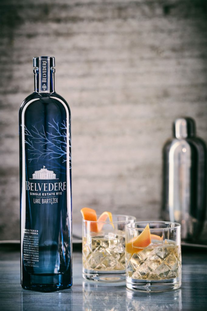 Belvedere Single Estate Rye Series vodka