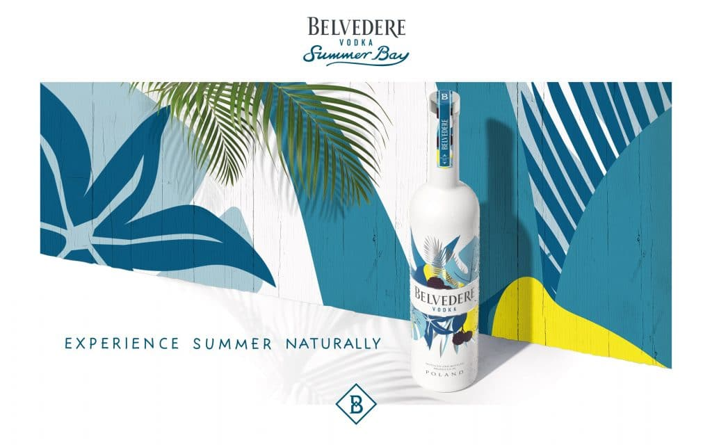 Belvedere Summer Bay limited edition fles