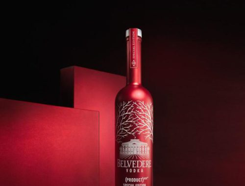 Belvedere Vodka limited edition RED