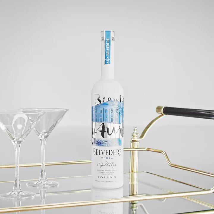 Belvedere Vodka limited edition x Janelle Monáe beautiful feature