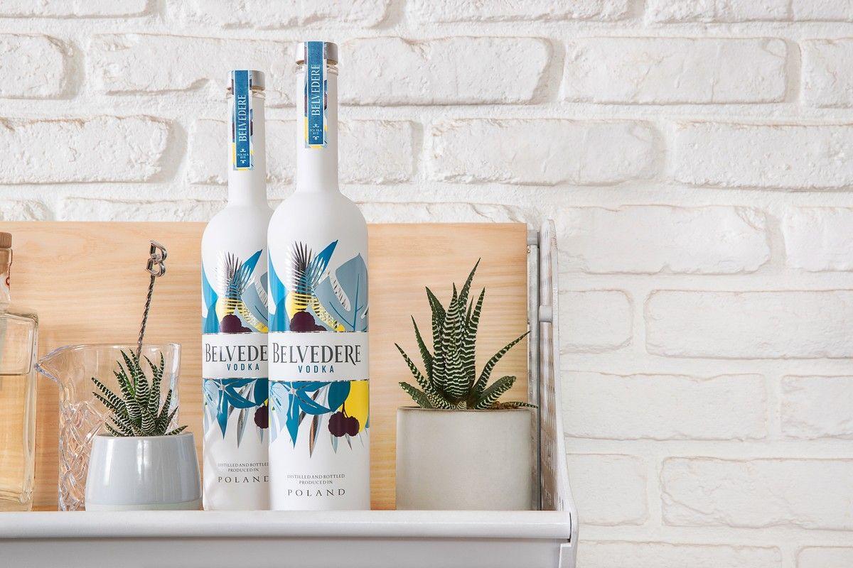 Belvedere limited edition Summer Bay Bottle