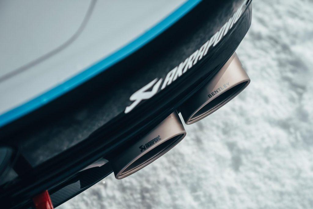 Bentley Ice Race Continental GT - GP Ice Race 2020