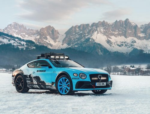 Bentley Ice Race Continental GT - GP Ice Race 2020