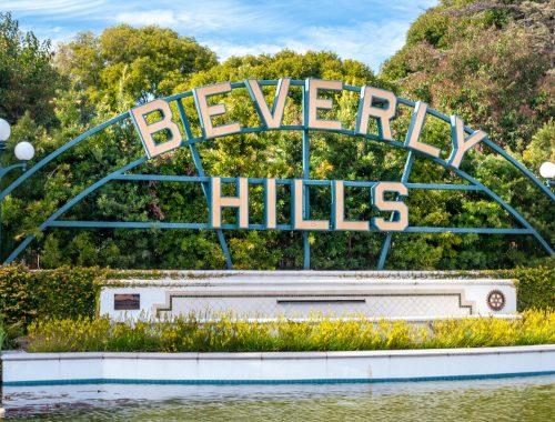 Big Sea tour Beverly Hills villa video