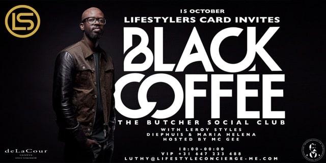 BLACK COFFEE @ THE BUTCHER Social Club