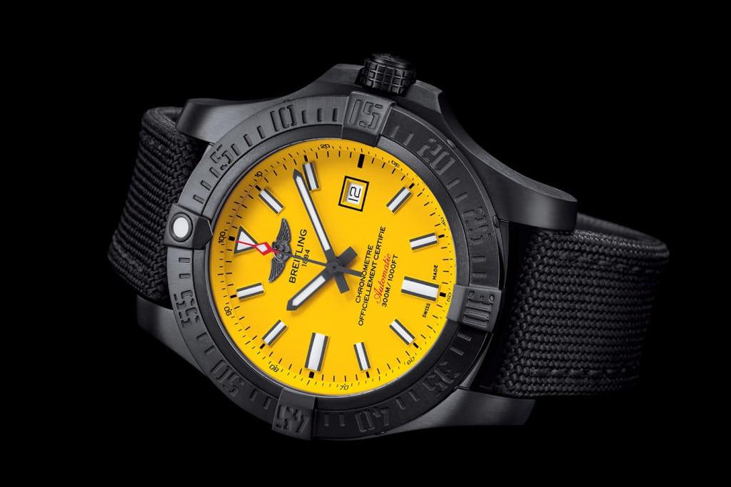 Breitling Avenger Blackbird Boutique Edition Horloge Mannenstyle