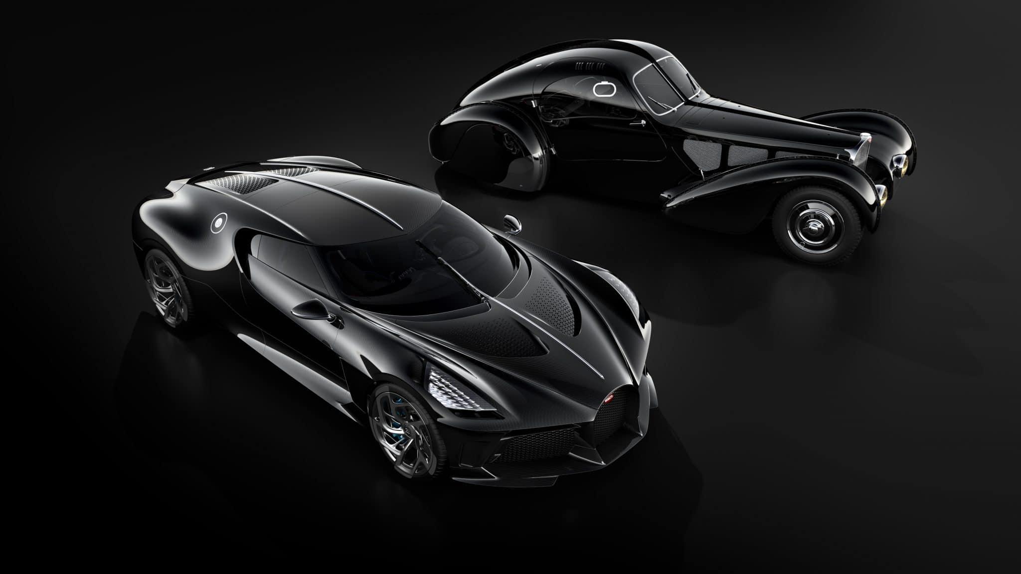 Bugatti La Voiture Noire duurste auto's ter wereld