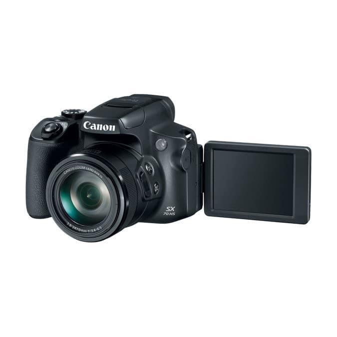 5 beste compacte camera's voor op vakantie - Canon Powershot SX70 HS