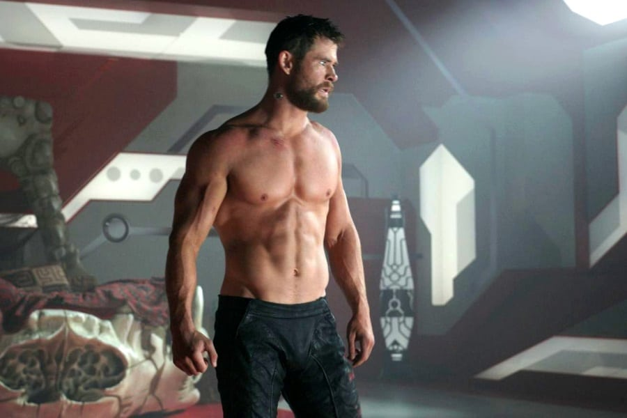 Chris Hemsworth's workout & dieet training thor