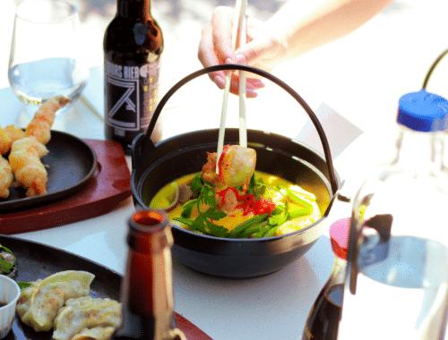 6 Hotspots waar je eten kunt afhalen met de boot amsterdam