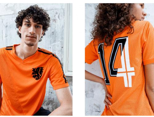 Cruyff x Blood In Blood Out limited edition voetbalshirt Oranje EK 2020