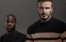 David Beckham en Kevin Hart's H&M comedy