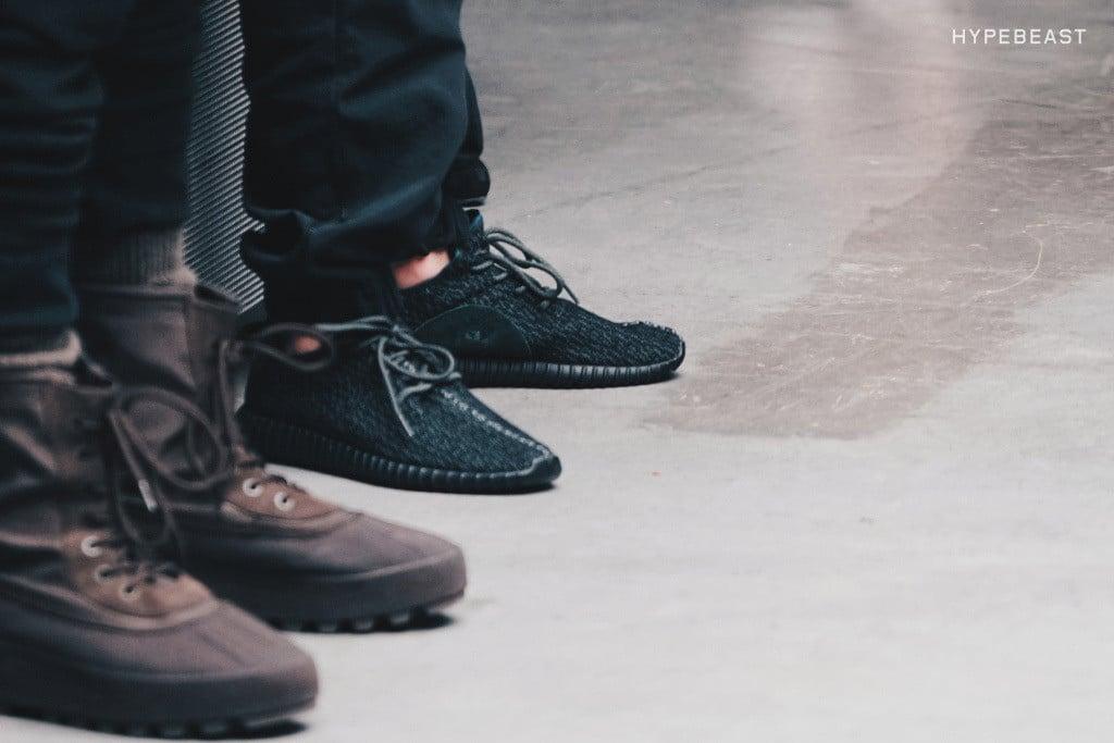 De adidas Originals Yeezy Boost 350 Black sneaker mannenstyle 2