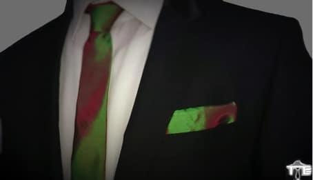 De pochet is back in business online Gentle Tie mannenstyle