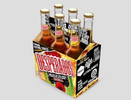 Desperados Play Bottle festival prijzen