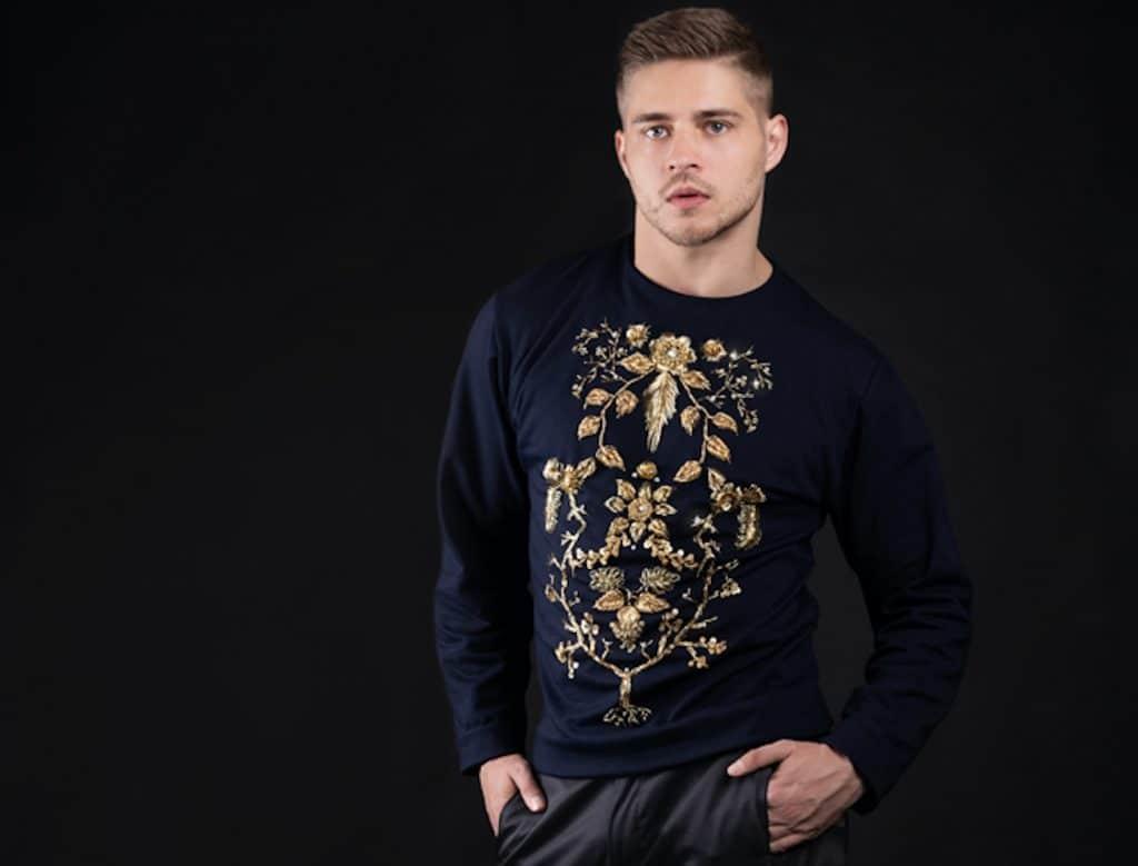 Diamond Flower sweater Haruco-vert 30.000 euro
