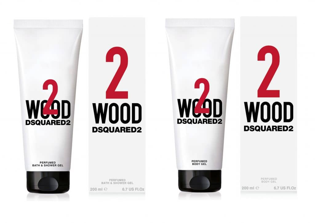 Dsquared2 2 WOOD shower gel body gel