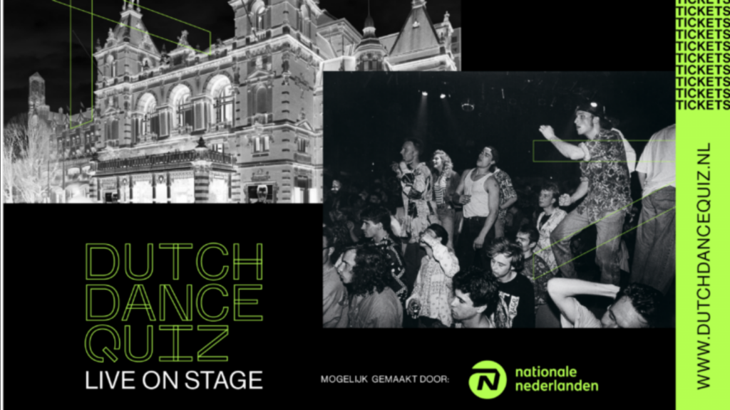 Dutch Dance Quiz theater liveshow ADE 2021